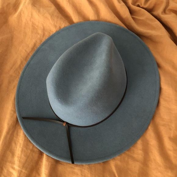 Blue Brixton Boater Hat 5cf38c30f31